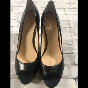 Gorgeous open toe Franco Sarto heels